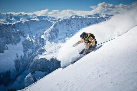 Skifahren Bild 5