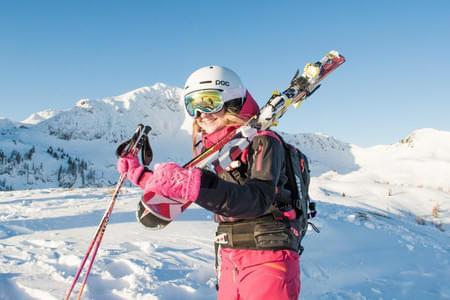 Skifahren Bild 3