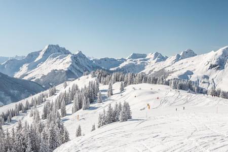 Skifahren Bild 4