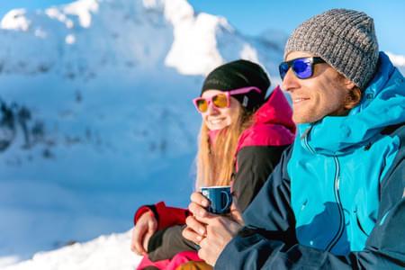 Skifahren Bild 1